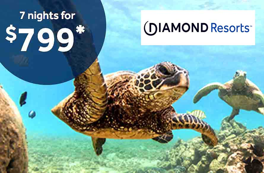 Diamond Resorts – Latest  Discounts