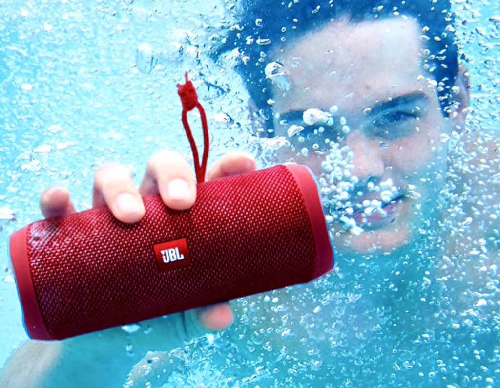 Gotta Have My Tunes! JBL Waterproof Speakers