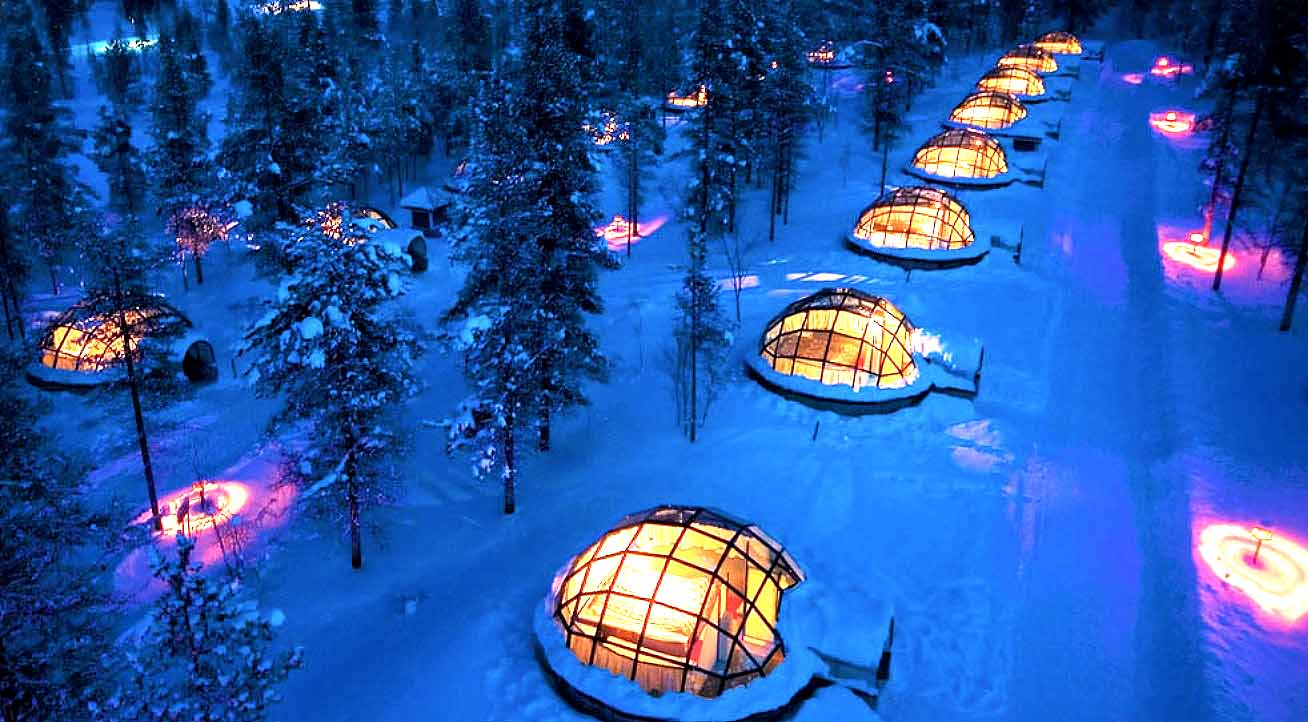 IGLOO ANYONE? FUN IN FINLAND
