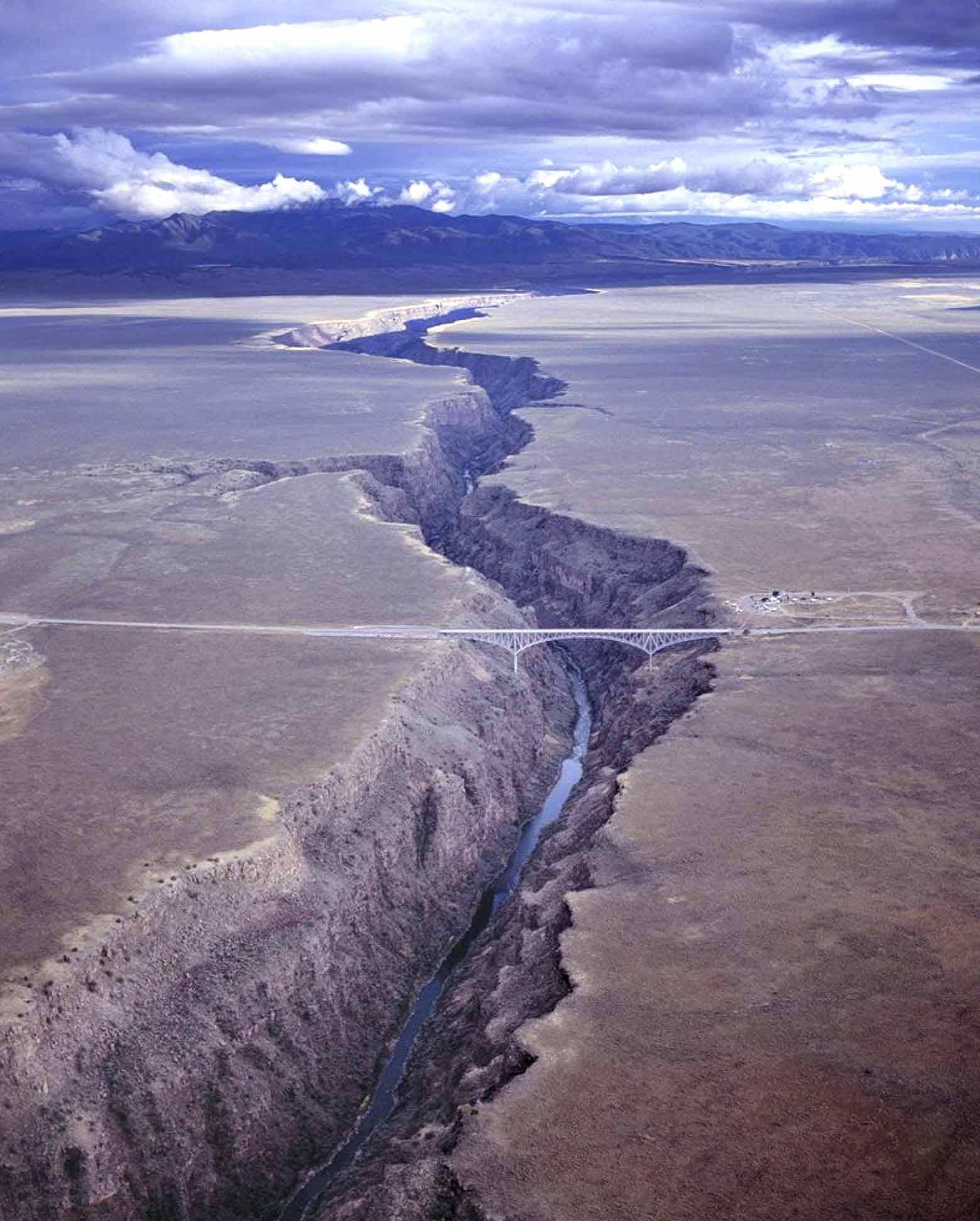Take a Splash in the Face in Embudo New Mexico