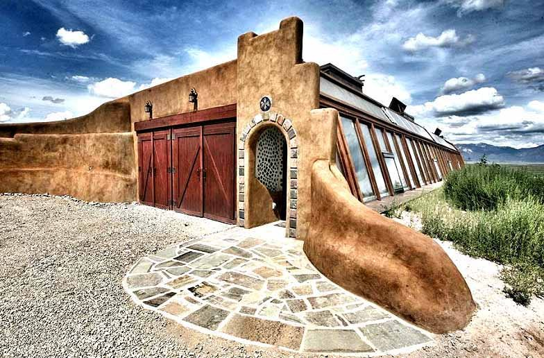Stay in an Earth Ship in Taos, New Mexico